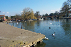 Stratford-upon-Avon river Avon